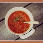 [MAT] Rød linsesuppe med quinoa