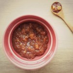 Sunn-oppskrift-på-sukkerfri-eple-og-aprikoschutney