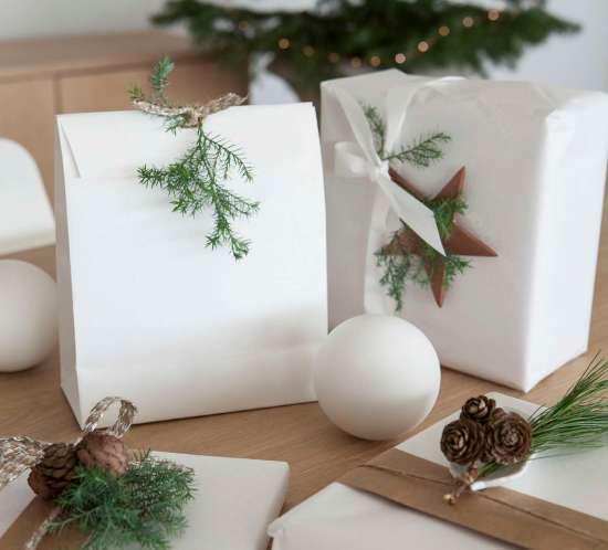 Jul - Julegaver med levende pynt