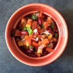 Meksikansk salsa med bønner