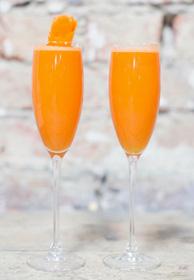 Idemagasinets oppskrift på alkoholfri drink med gulrot og appelsin