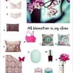 Blomstrende vårnyheter: Mote, skjønnhet og interiør