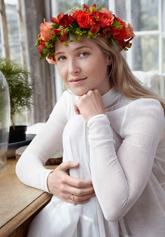 DIY Bind blomsterkrans til håret