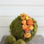 Lag selv dekorerte oasiskuler i høstfarger