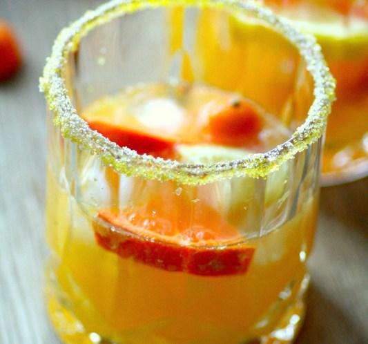 DRINKER OG COCKTAILS Sitrus-Sangria til høst og Halloween © FOTO: idemagasinet.no