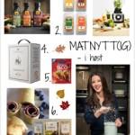 NYHETER! 7 tips til mat og drikke du kan nyte i høst