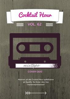 Helgens spilleliste: Cocktail Hour Vol. 62 Cover Quiz