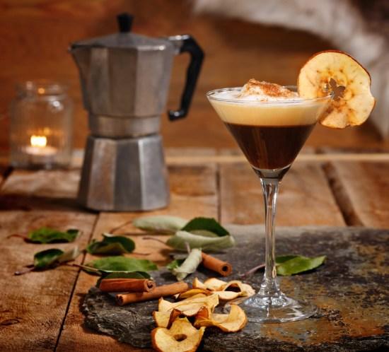 Oppskrift på kaffedrikker - Kaffe a la eplekake