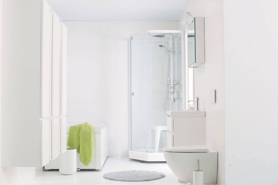 BADEROM - tips - blogg - interiortips - hvitt - Porsgrund