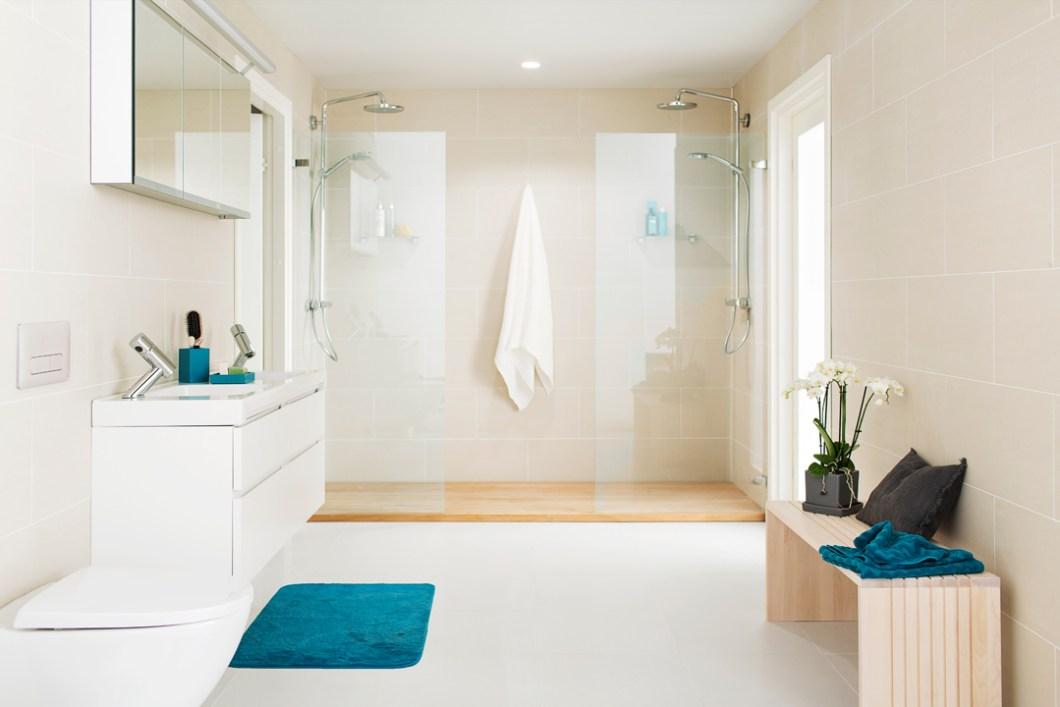 BADEROM - tips - blogg - interiortips - oppbevaring - Porsgrund - dusj