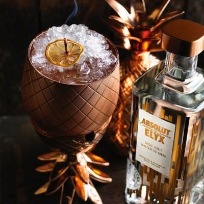 HAPPY HOUR: Cocktail med Absolut Elyx og Calvados