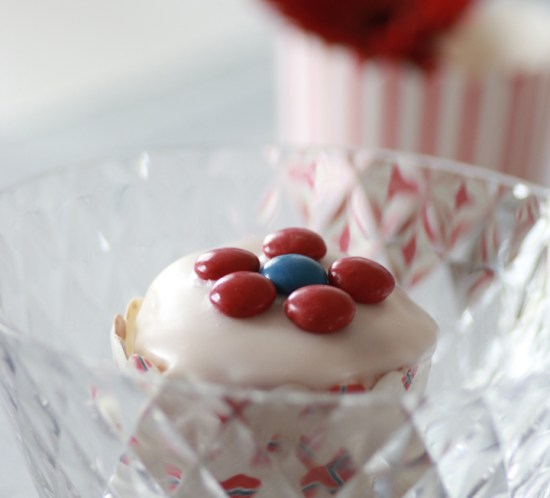 Cupcakes eller muffins-oppskrift på Mariannes blogg
