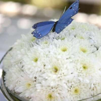 Blomstrende kaker til 17. mai-bordet