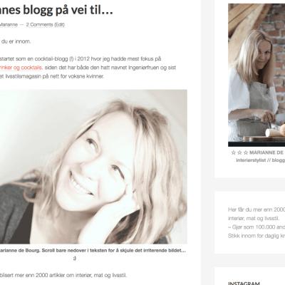 3 fra denne uka: Yoga, Instagram og blogg