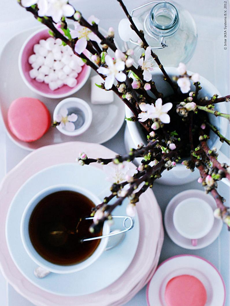 ROSA borddekking, interiørtips, DIY, planter, blogg, blomster