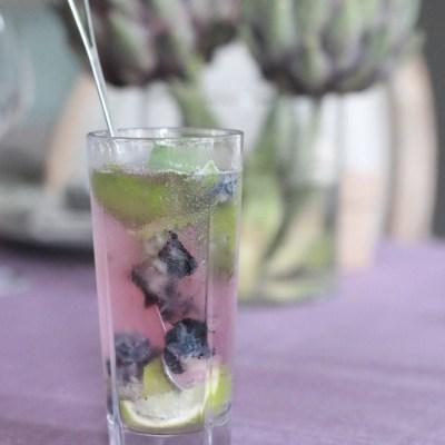 Blueberry Mojito med en tvist
