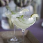 Gin Fizz med agurk, lime og mynte