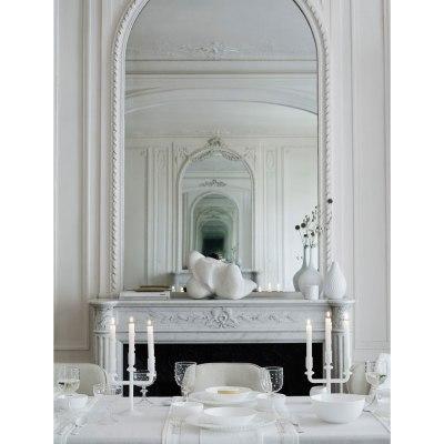 Borddekking i hvitt på hvitt (ikke kjedelig,nei!)