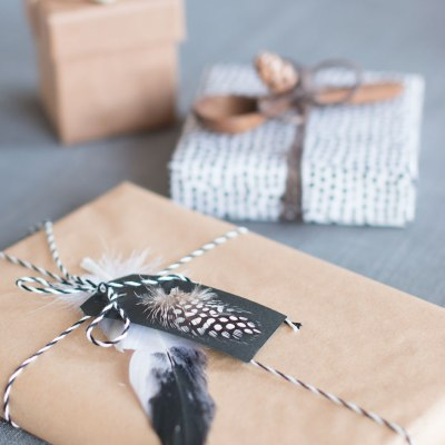 Gaveinnpakking i naturlig og nordisk stil