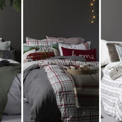 Julens soverom i tre stiler