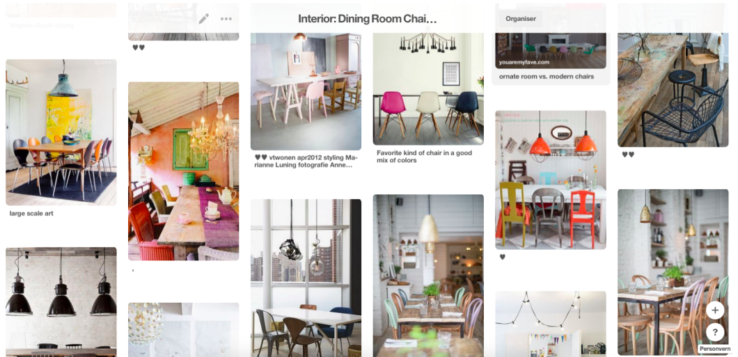 100 ideas to dining room chair mixing
