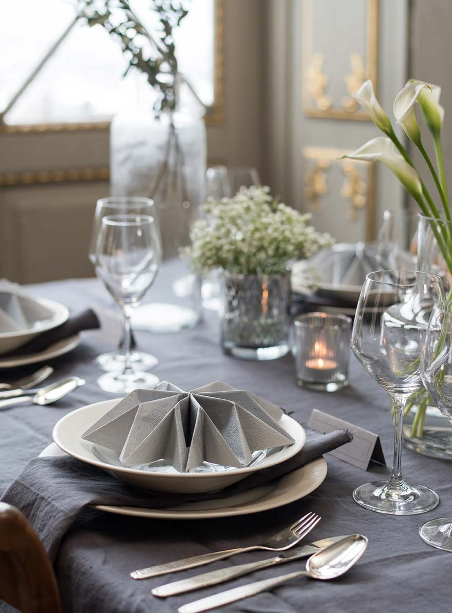 Tablescape Classical Wedding - Styled by me