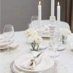 BORDDEKKING: Tips til pynting av dåpsbordet