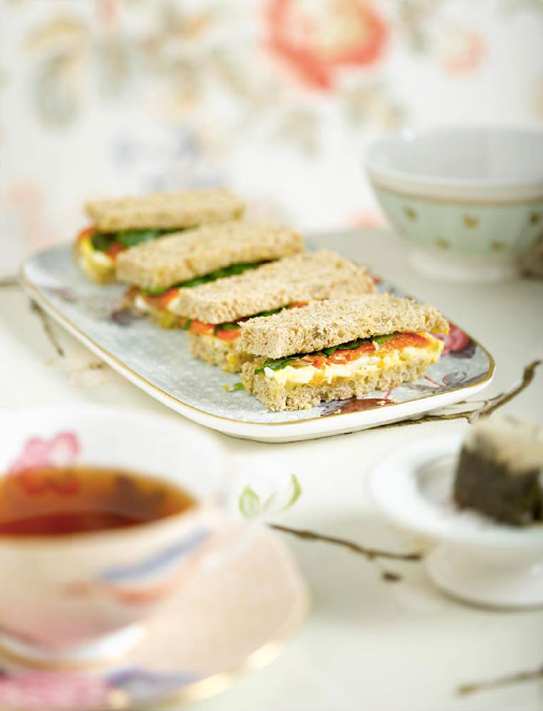 Afternoon tea finger sandwiches BLOG: mariannedebourg.no