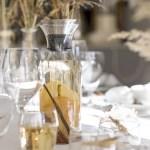 Lekkert på festbordet: Vann med smak