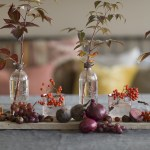 Dekk et fint høstbord med naturmaterialer