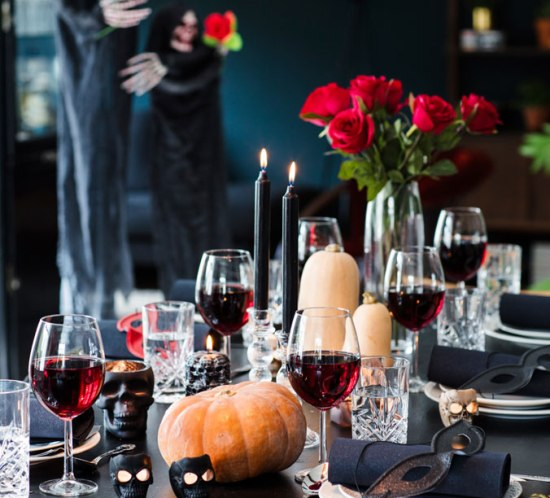 mariannedebourg.no BLOGG borddekkingstips til Halloween fra Nille
