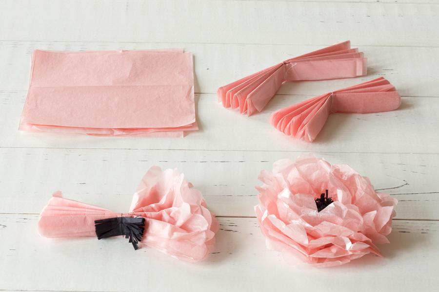 Her er mine supersøte blomster av silkepapir - du kan også lage dem. Her får du oppskriften! BLOGG mariannedebourg.no