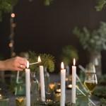 Mitt juleverksted: Ferdigkjøpt adventsstake med furukvister