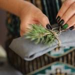Glitrende negler til jul og nyttår