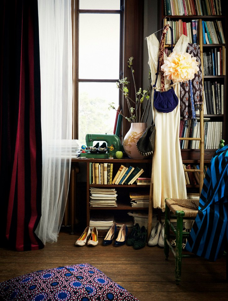 Bokhylle og favorittbøker