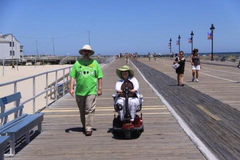 On the OC boardwalk