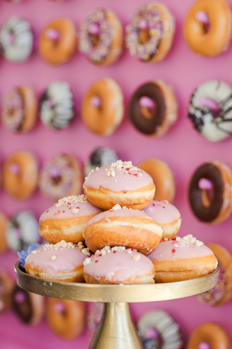 Inspiration Shoot The Pink Doughnut Wall Of Perfection