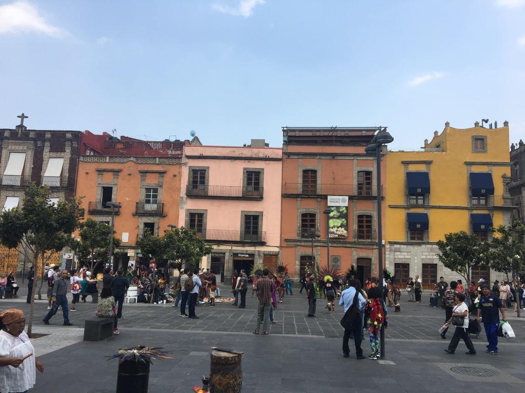 Plaza Seminario en el Centro de México