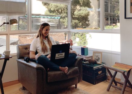 Blogger María Perrier