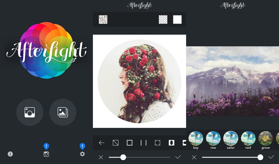 Afterlight es la preferida de influencers de Instagram.