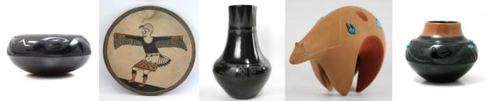 Maria Martinez and Family Pottery