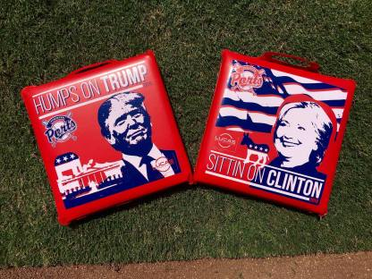 Political Seat Cushion GIveaway