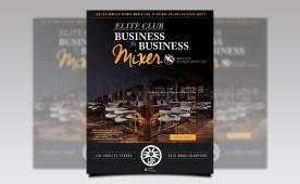 2017 B2B Elite Club Mixer Flyer