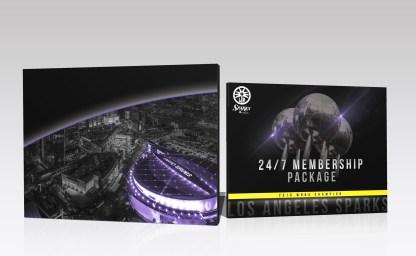24/7 Season Members Package Envelope