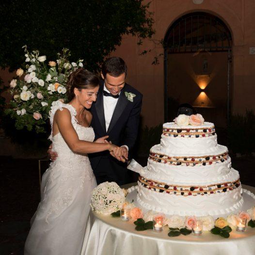 Marco & barbara al Castello di Decima | Maria Rita Ferrari wedding planner