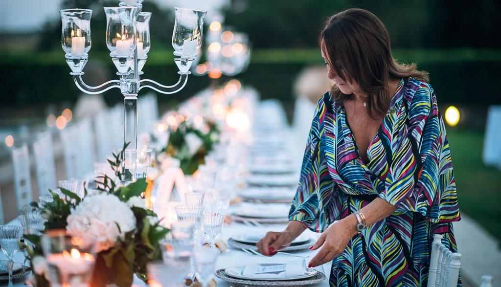 Maria Rita Ferrari alla Tenuta di Ripolo | Maria Rita Ferrari wedding planner