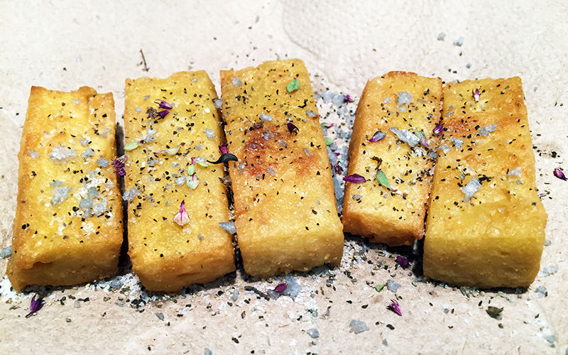 Quick And Easy Panisse From Scratch Marias Farm Country