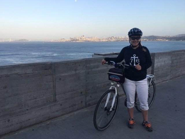 Golden Gate per cykel