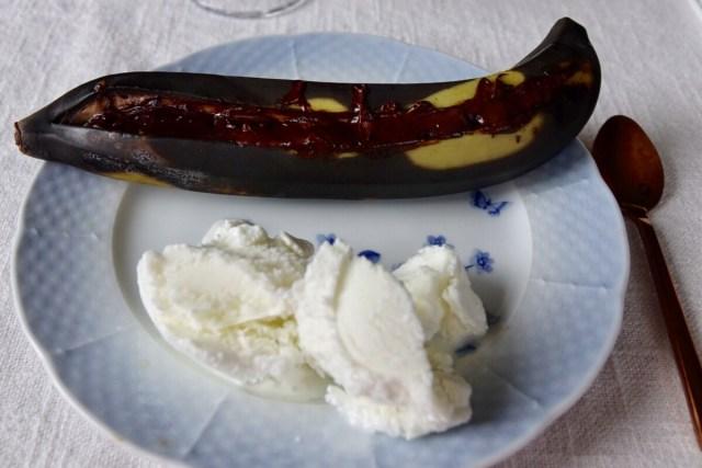 Grillade bananer