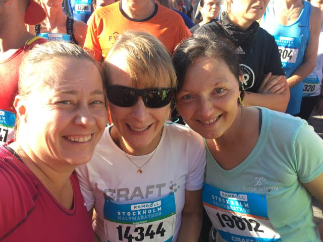 Stockholm Halvmarathon race report 2018